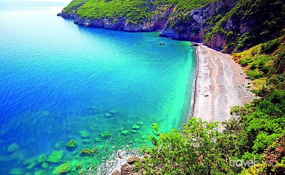 Παραλία Λιµνιώνα, Εύβοια