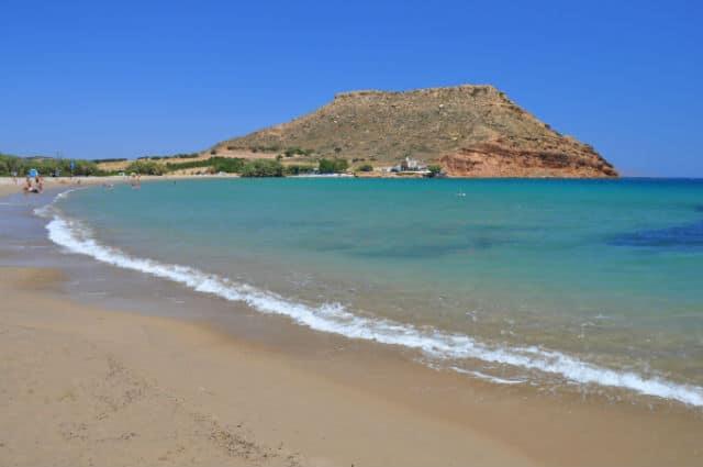παραλία Χιόνα, Κρήτη