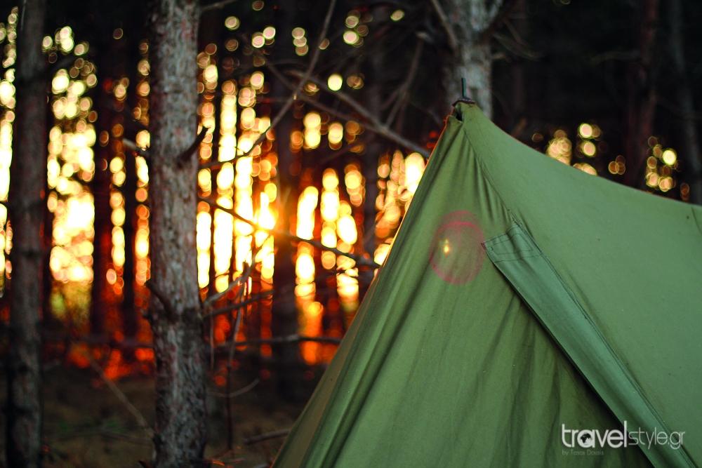 camping Εύβοια