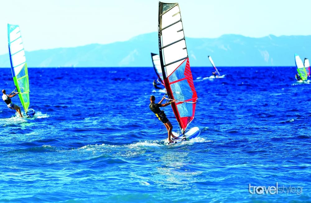 wind surf Εύβοια
