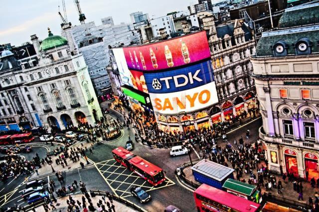 Piccadilly Circus Λονδίνο