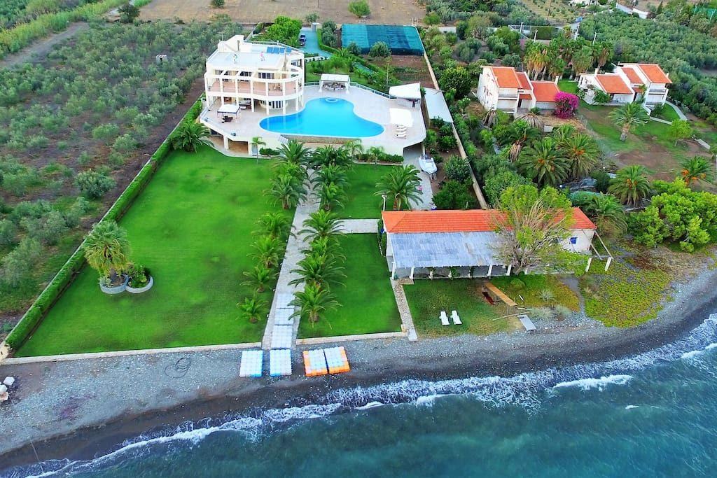 Magical Mediterranean Beach Estate