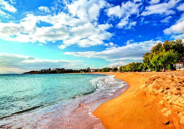 Παραλία Λογαράς, Πάρος