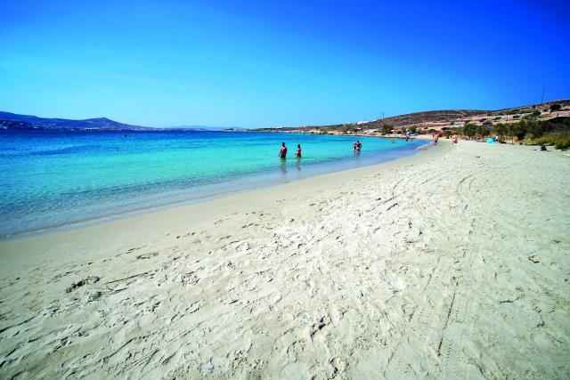 Παραλία Μαρτσέλο - Κριός, Πάρος