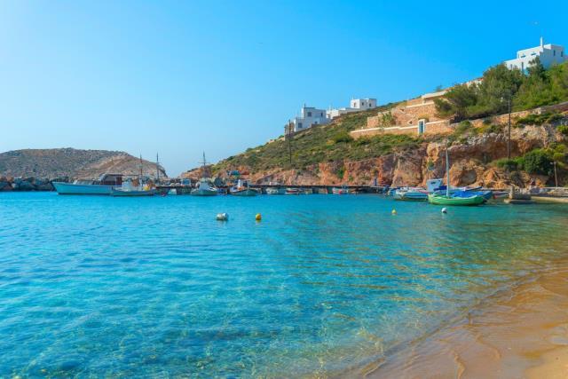 Παραλία Αχλάδι, Σύρος