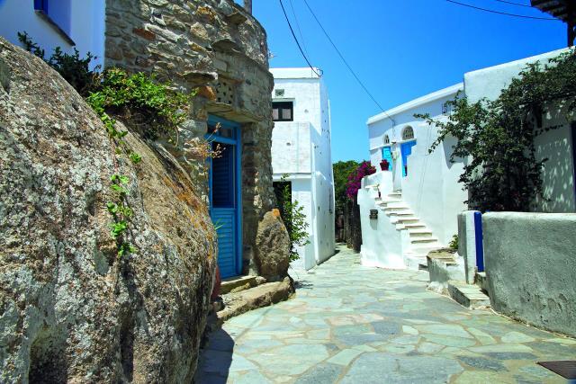 Βώλακας, χωριό Τήνος