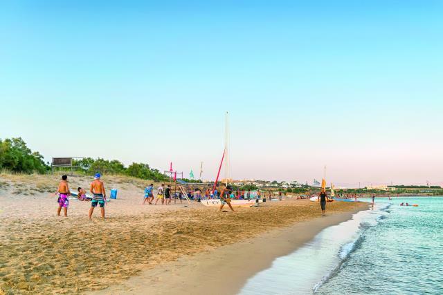 Παραλία Χρυσή Ακτή, Πάρος