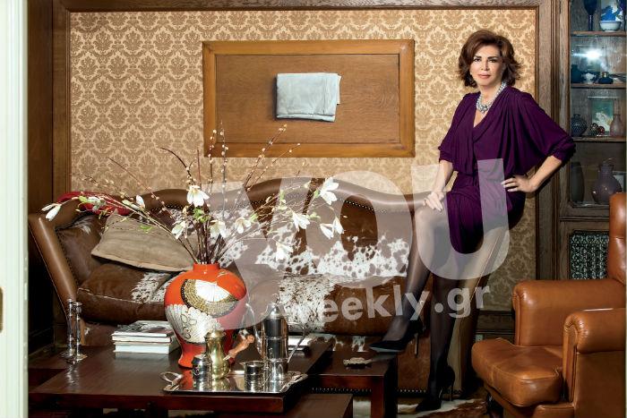 Μιμή Ντενίση: Μας ανοίγει για πρώτη φορά το σπίτι της στο Πεδίον του Άρεως!Ότι πιο αριστοκρατικό θα δείτε!!!