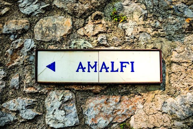 Aμάλφι πινακίδα