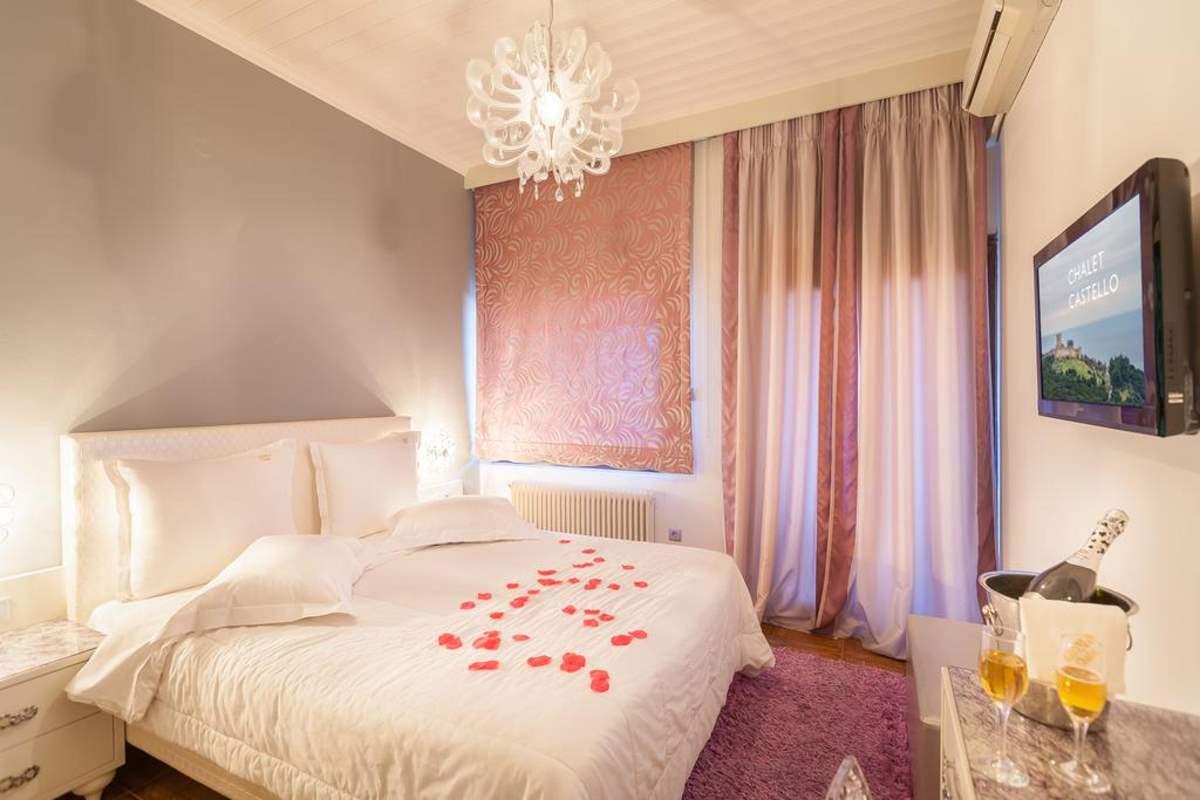 Chalet Castello δωμάτιο