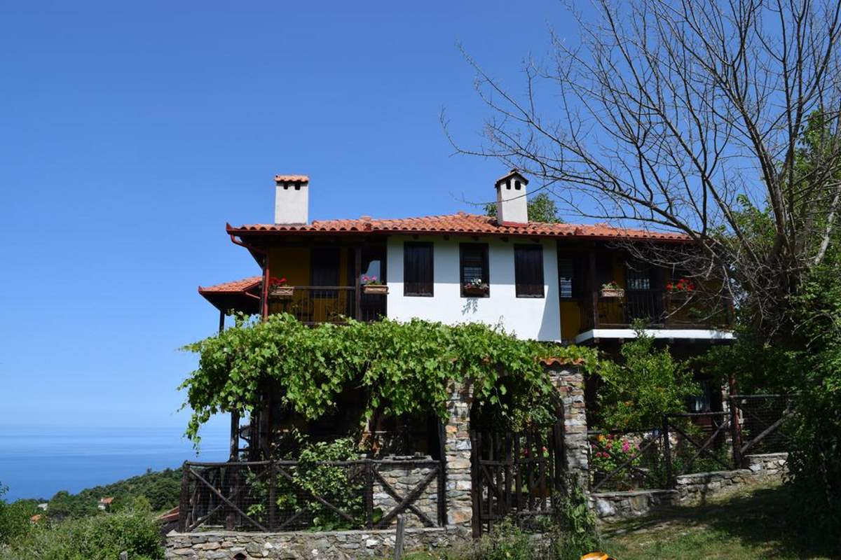 Guesthouse Oneiro, κτήριο