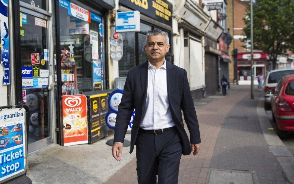 ο δήμαρχος του Λονδίνου Sadiq Khan