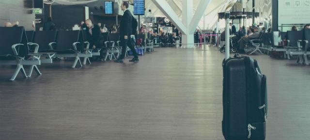 Βαλίτσα, Αεροδρόμιο