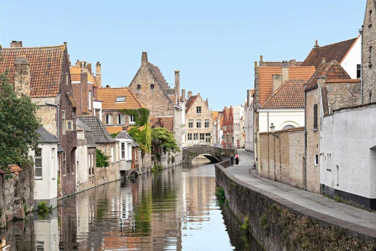 Κανάλι στην Brugge, Βέλγιο