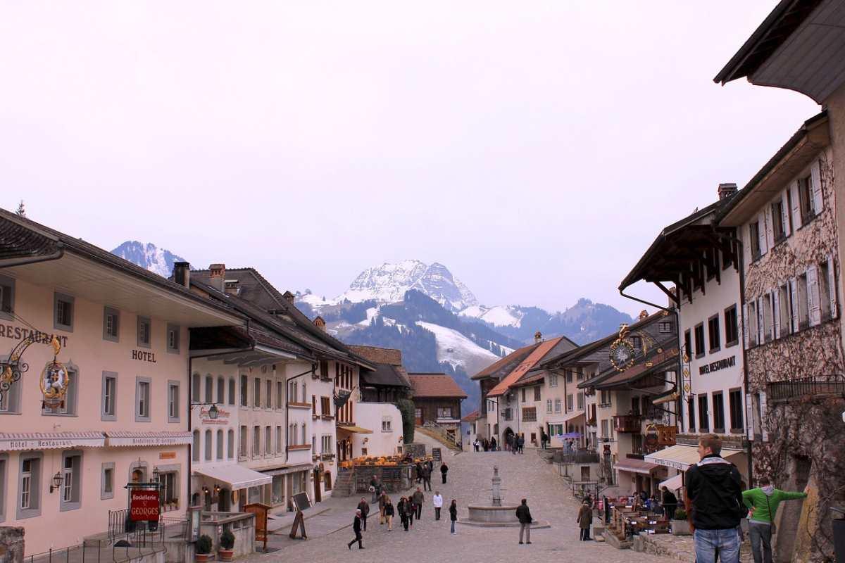 Gruyeres, Ελβετία