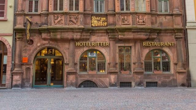 Χαϊδελβέργη ξενοδοχείο Ritter