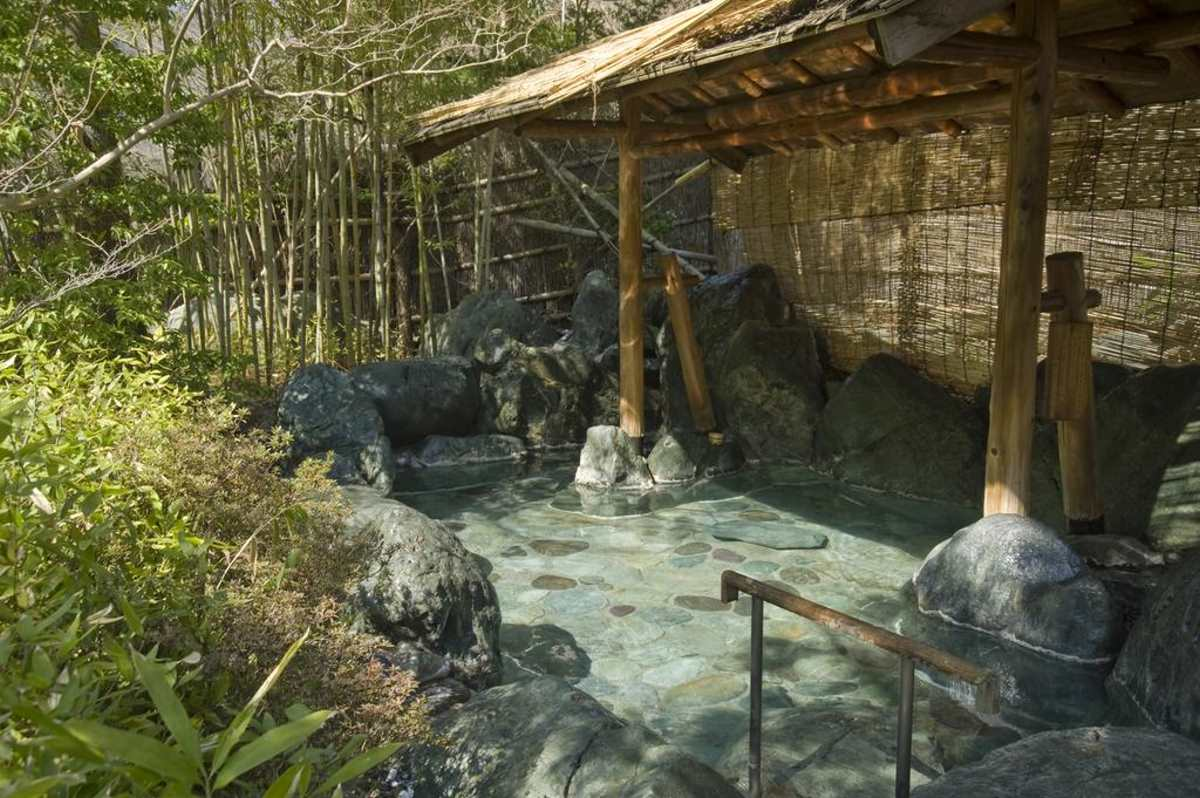 Θερμές πηγές Nishiyama Onsen Keiunkan