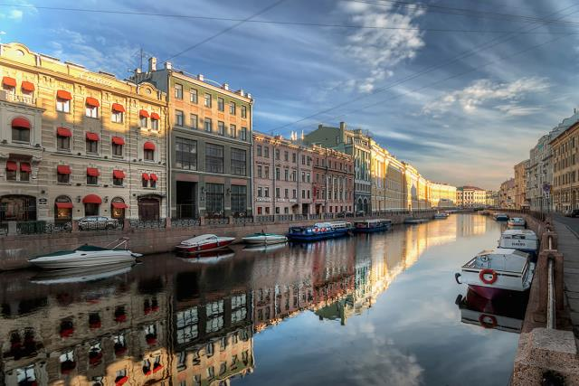 Αγία Πετρούπολη - πόλεις με κανάλια