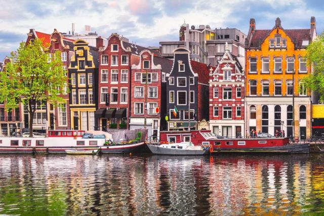 Τα διάσημα κανάλια του Άμστερνταμ