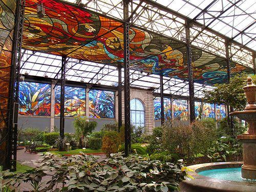 Κοσμοβιτράλ...ο κήπος με τα βιτρώ στο Μεξικό!