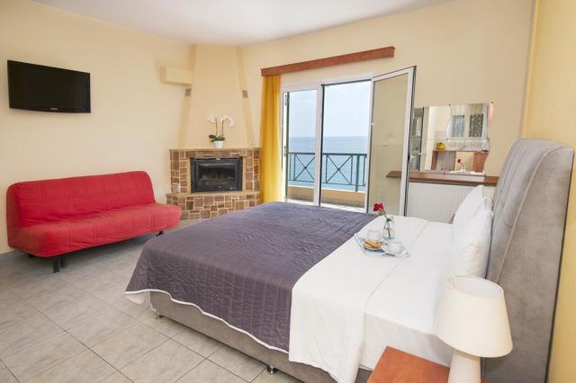 Panorama Hotel δωμάτιο με τζάκι