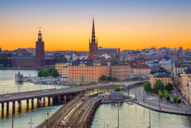 Στοκχόλμη - πόλεις με κανάλια