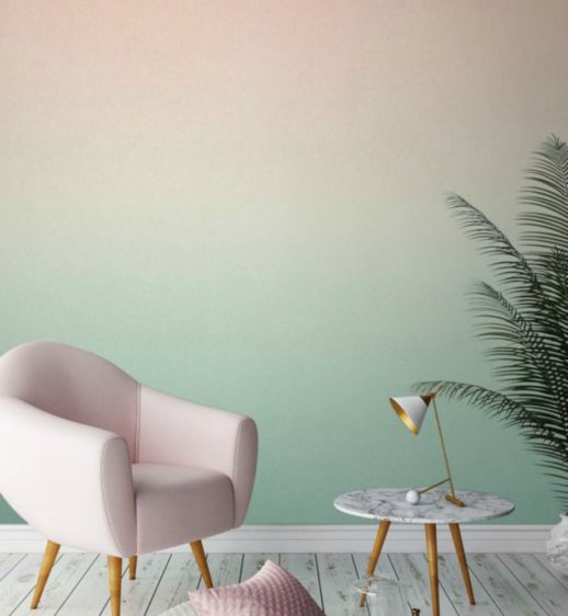 Deco pink green