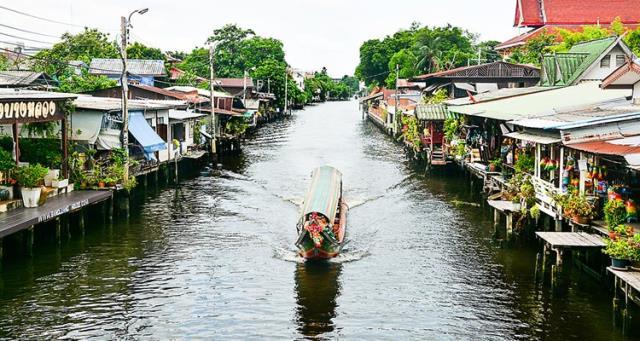 Μπανγκόκ - πόλεις με κανάλια