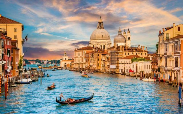 Βενετία - πόλεις με κανάλια