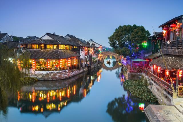 Xitang - πόλεις με κανάλια