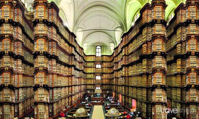 Biblioteca Angelica - βιβλιοθήκη Ρώμη