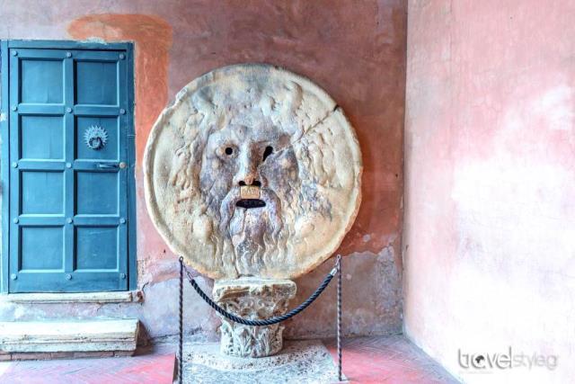Bocca della Verita (Στόμα της Αλήθειας) Ρώμη