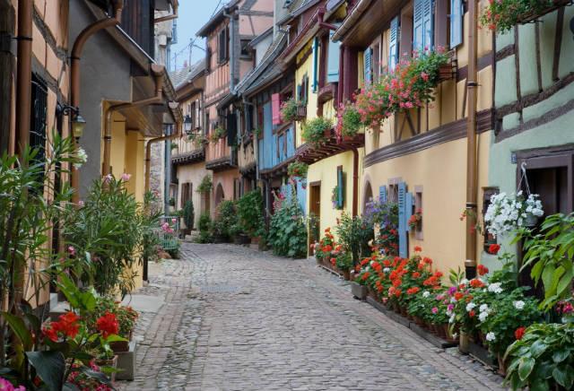 Εγκισάιμ: Το γραφικό γαλλικό χωριό στον αλσατικό δρόμο του κρασιού