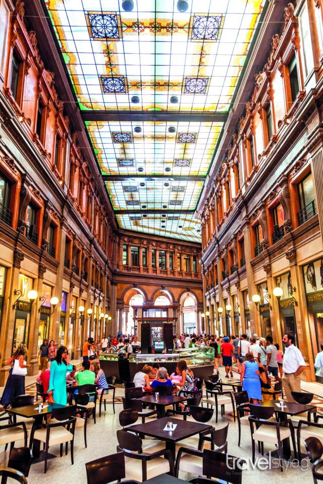 Galleria Alberto Sordi - αγορά Ρώμη