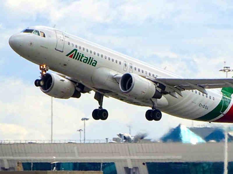 Alitalia αεροπλάνο