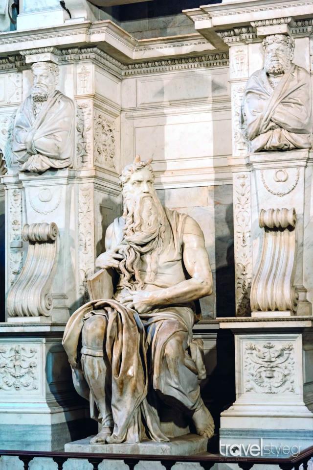 Άγαλμα Μιχαήλ Άγγελου, Ρώμη