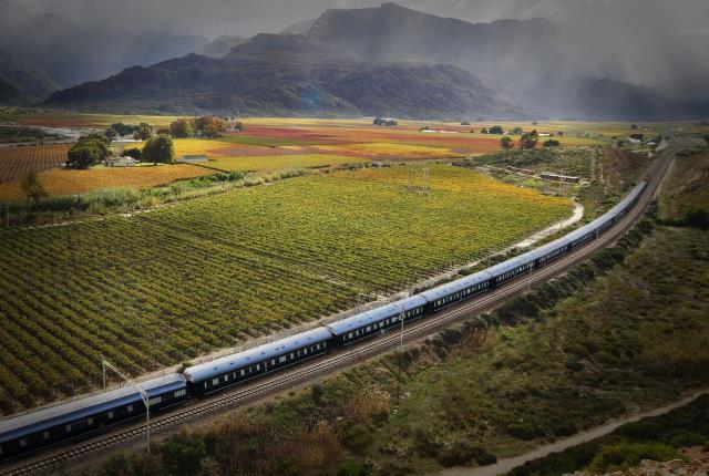 Rovos Rail τοπία