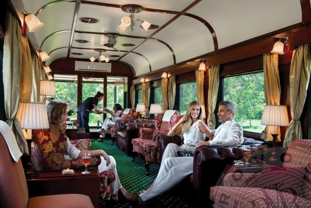 Rovos Rail ταξίδι