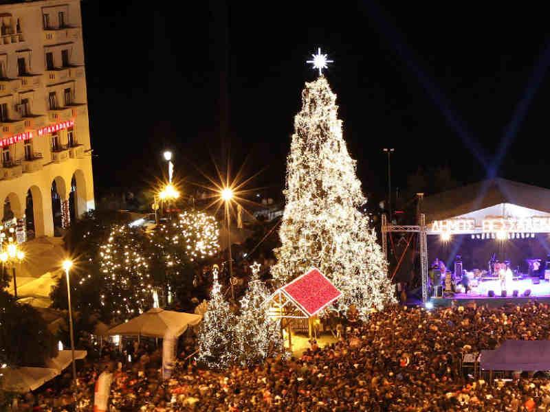 Η Θεσσαλονίκη στο πνεύμα των γιορτών από τις 30 Νοεμβρίου: Φώτα,μουσικές & καλλιτεχνικά δρώμενα (πρόγραμμα)