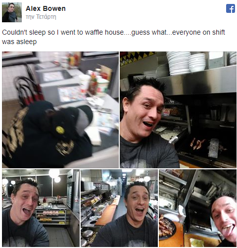 H διαφορετική ερμηνεία του «self service»! Πελάτης μπήκε στην κουζίνα εστιατορίου και μαγείρεψε μόνος του! Ο υπάλληλος κοιμόταν