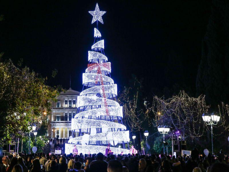 Xmas tree Athens