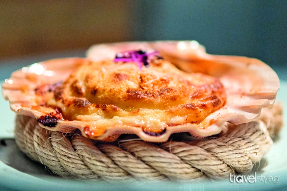 coquille seafood