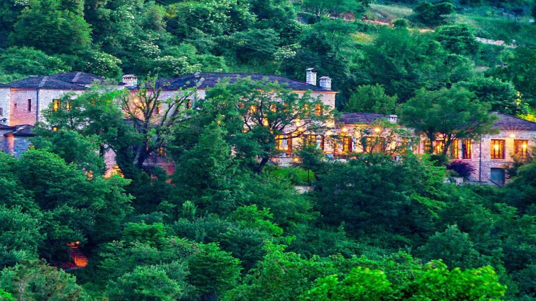 Aristi Mountain Resort βραβευμένο ξενοδοχείο Ζαγόρι