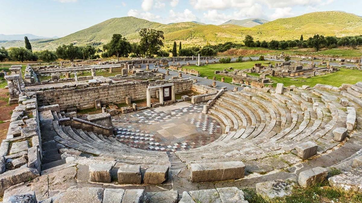 Αρχαία Μεσσήνη Πελοπόννησος