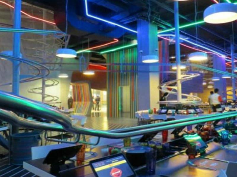 Το πιο hi tech εστιατόριο του κόσμου είναι στο Αμπού Ντάμπι! Και να το  γιατί! b82e8a48645