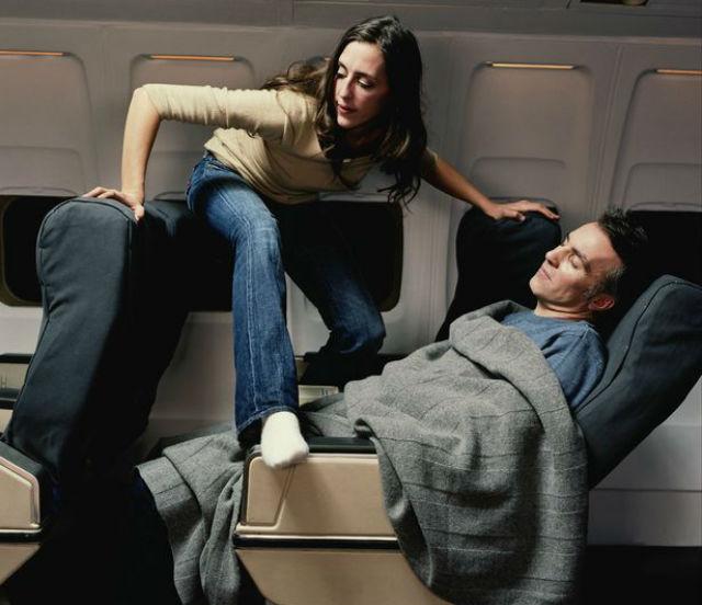θέση στο αεροπλάνο