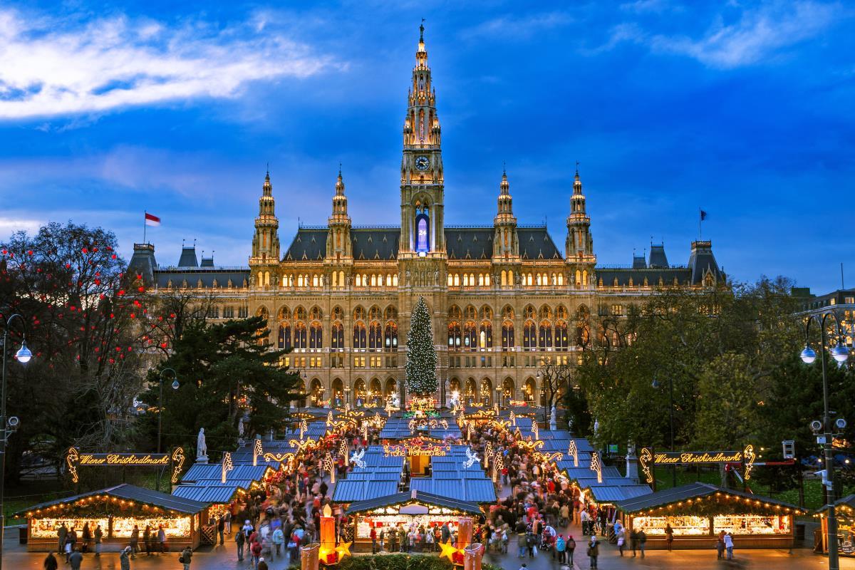 Χριστουγεννιάτικη αγορά, Βιέννη, Αυστρία
