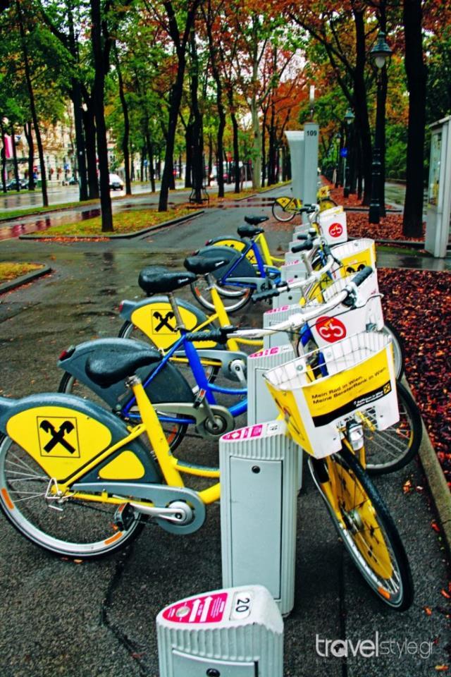 Ενοικίαση ποδηλάτου Βιέννη