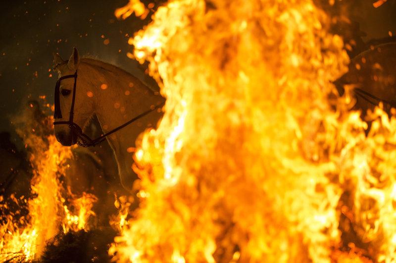 Las Luminarias: Ένα φεστιβάλ σαν να έχει βγει από τον μεσαίωνα