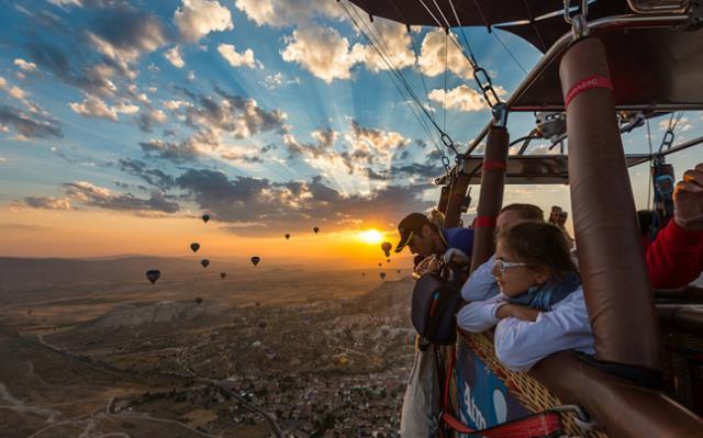 Αερόστατα, Καππαδοκία, Τουρκία